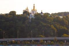 Kiev Pechersk Lavra, Ucrania Foto de archivo