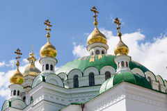 Kiev Pechersk Lavra in Ukraine Royalty Free Stock Image
