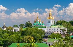 Kiev Pechersk Lavra. View of Lower Lavra Royalty Free Stock Photo