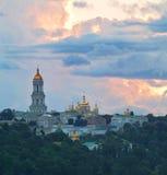 Kiev-Pechersk Lavra. View at sunset, Kiev, Ukraine Stock Image