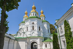 Kiev-Pechersk Lavra was founded in 1051 by Yaroslav the Wise. Stock Images