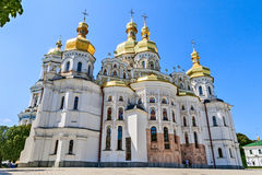 Kiev-Pechersk Lavra was founded in 1051 by Yaroslav the Wise. Royalty Free Stock Photography