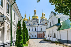 Kiev-Pechersk Lavra was founded in 1051 by Yaroslav the Wise. Royalty Free Stock Images