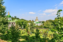 Kiev-Pechersk Lavra was founded in 1051 by Yaroslav the Wise. Royalty Free Stock Photo