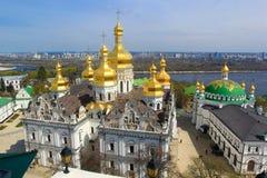 Kiev pechersk monastery Stock Photos