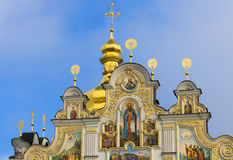 Kiev Pecherska Lavra. Pecherska Lavra , The unesco world Heritage site  in Kiev the capital of Ukraine Royalty Free Stock Photo