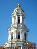 Kiev-Pecherskoy laurel. Bell tower in Kiev-Pecherskoy laurel Royalty Free Stock Images