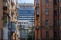 Kiev perspektiv Fotografering för Bildbyråer