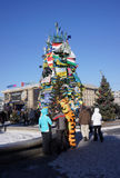 Kiev protesta 2014 Fotos de Stock Royalty Free