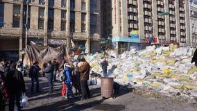 Kiev protesteert 2014 Stock Foto's