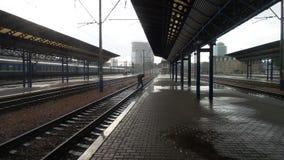 Kiev railway station Stock Photos