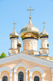Kiev and religion. Holy Church of the Intercession on Solomenko. Stock Image