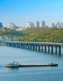 Kiev river transportation, Ukraine Stock Photography