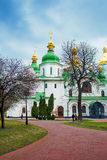Kiev's landmark - Sophia Cathedral Royalty Free Stock Photo