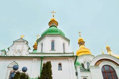 Kiev's landmark - Sophia Cathedral Stock Images