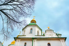 Kiev's landmark - Sophia Cathedral Stock Photo