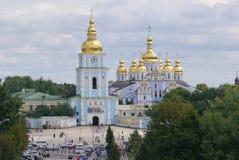 Kiev. Scenic view of Kiev church Stock Photos