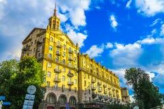 Kiev självständighetfyrkant 04 fotografering för bildbyråer