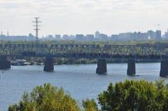 Kiev skyline Royalty Free Stock Photo