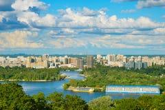 Kiev skyline, Ukraine Stock Image