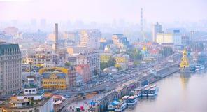 Kiev skyline. Ukraine Stock Image