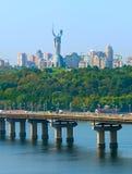 Kiev skyline, Ukraine Stock Photos