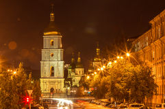 Kiev Sofia kloster Royaltyfri Fotografi