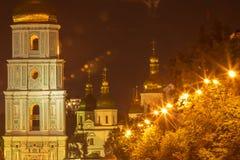 Kiev Sofia kloster Arkivbilder