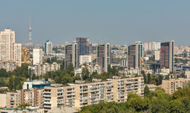 Kiev Solomenka district cityscape, Ukraine Stock Photography