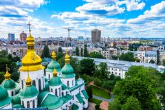 Kiev Sophia Cathedral 04 imagem de stock royalty free