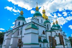 Kiev Sophia Cathedral 11 imagem de stock royalty free