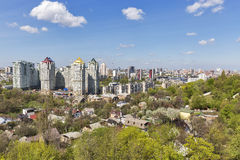 Kiev spring cityscape, Ukraine Stock Photo