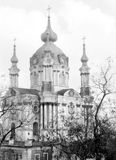 Kiev St Andrew Church Church 1964 Royalty Free Stock Images