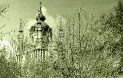Kiev the St Andrew Church May 1964 Stock Images