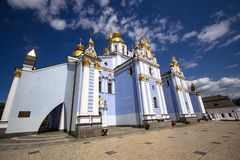 Kiev St. Michael's Church Stock Image