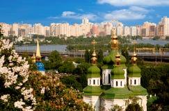 kiev stads- sikt Royaltyfri Foto