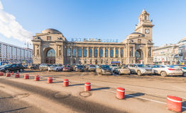 Kiev station in Moscow. Stock Photos