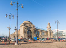 Kiev station in Moscow. Royalty Free Stock Photo