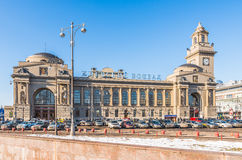 Kiev station in Moscow. Royalty Free Stock Images