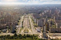 Kiev, summer cityscape of Ukrainian capital Stock Photo
