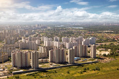 Kiev, summer cityscape of Ukrainian capital Stock Image