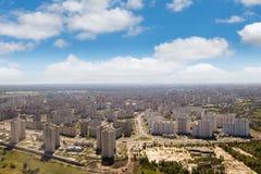 Kiev, summer cityscape of Ukrainian capital Royalty Free Stock Images