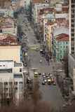 Kiev from top point view. Pano Stock Photos