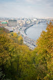 Kiev, top view Royalty Free Stock Photos