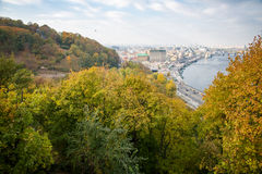 Kiev, top view Royalty Free Stock Images