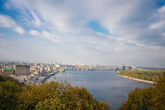 Kiev, top view Royalty Free Stock Photo
