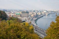 Kiev, top view Stock Photo