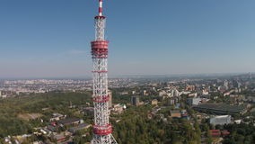 The Kiev TV Tower, Ukraine stock footage