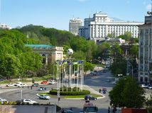 kiev ucrânia Foto de Stock Royalty Free