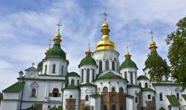 Kiev, Ucrânia, catedral de Sofiyiskiy fotos de stock royalty free